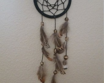 Black and Gold Dream Catcher