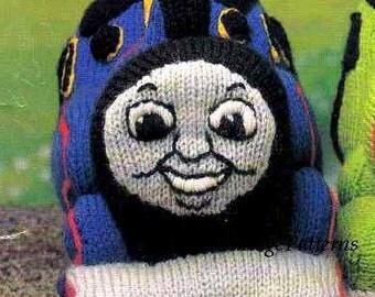 Thomas Knitting Pattern : Thomas Tank Engine Intarsia Sweater Instant Download PDF ...