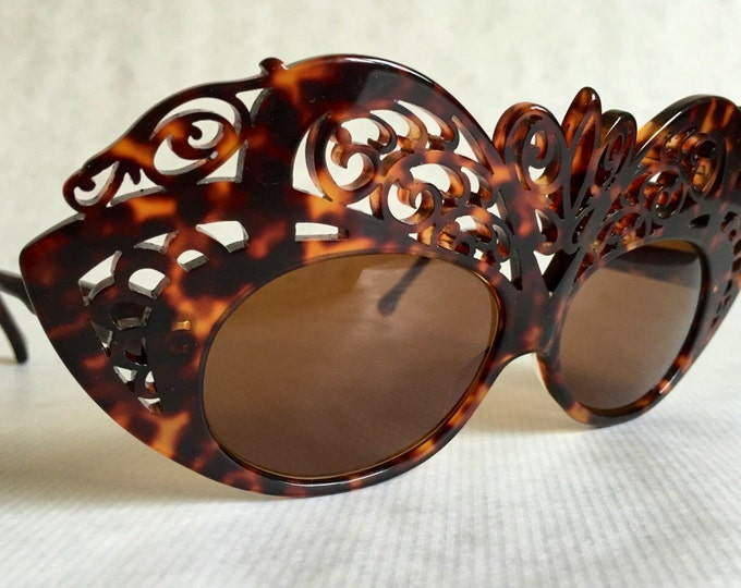 Olmacôme Mask 18 Vintage Sunglasses New Old Stock Handmade in France