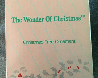 The Wonder of Christmas Ornament