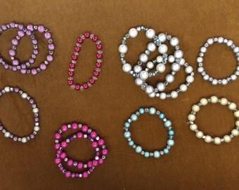 Beautiful handmade beaded bracelets