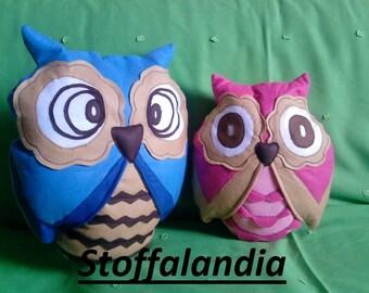 Owl pillows Pasqualino and OWL Nanninella gift idea