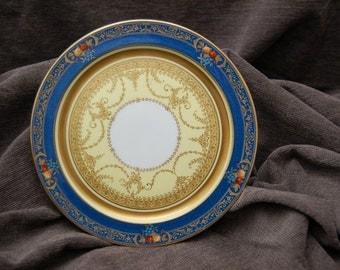 Crescent George Jones Porcelain Cabinet Plates: Set of Eight