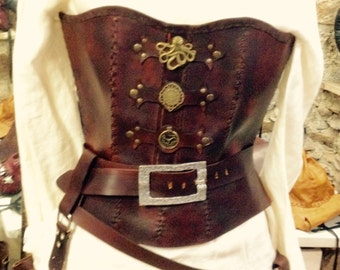 Bustier, corset steam punk