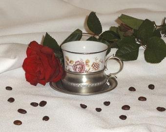 4 porcelain espresso cups Tognana Royal Monopoli