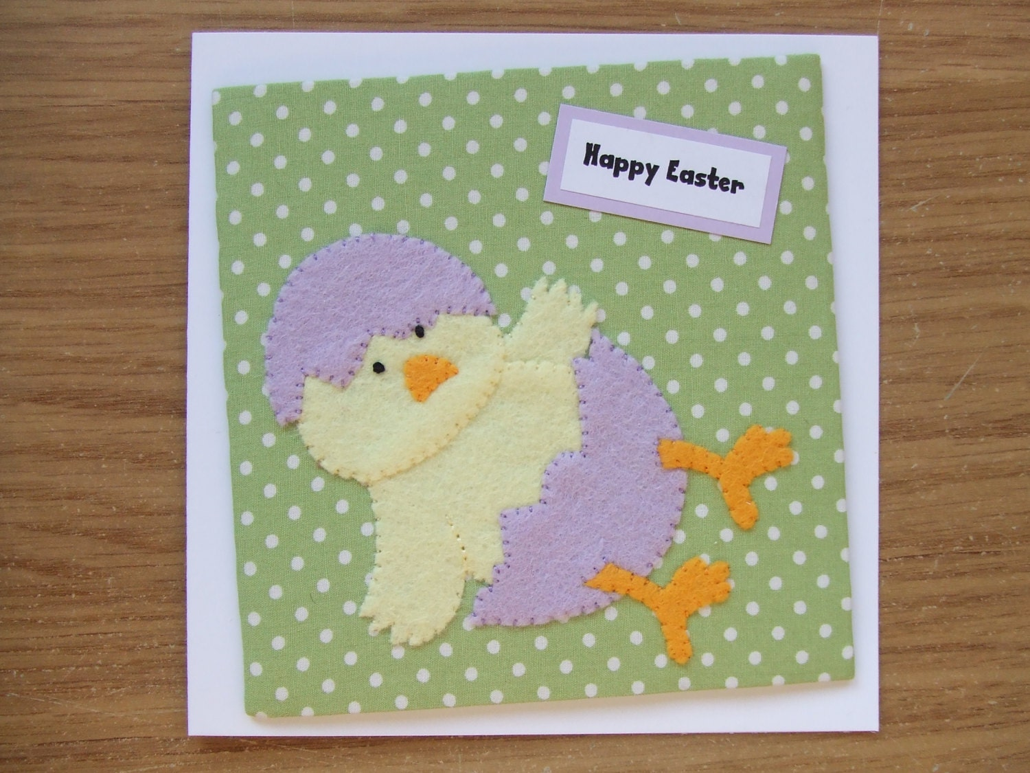 Chick Easter Cards Easter Chick Fabric Easter Cards Handmade