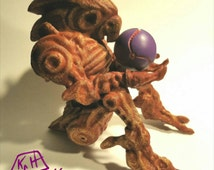 Metroid Inspired Chozo Statue 3d printed sculpt