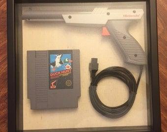 Duck Hunt/Zapper Gun NES Frame