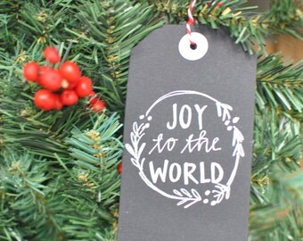 Joy to the World Gift Tag ( Package of 10)