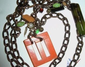 Necklace Vintage Boho Hippie Long Modern