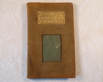A Child's Garden of Verses RL Stevenson Leather-Bound Edition