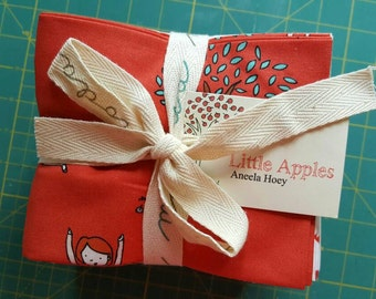 32 Fat Quarter Bundle Little Apples by Aneela Hoey for Moda, OOP and VHTF