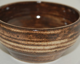 Ceramic bowl. Pottery bowl.
