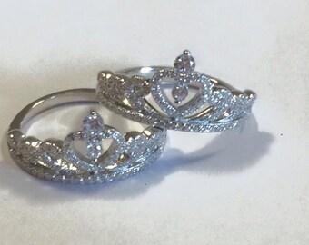 """Silver ring """"Princess"""""""