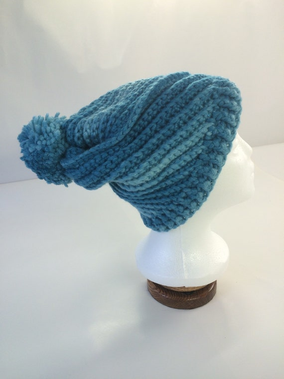 Icy River Spiral Hat
