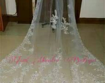 SAMPLE SALE Handmade Couture Princesse Bridal Veils