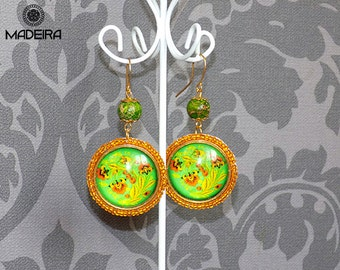 """Earrings """"Khokhloma"""""""