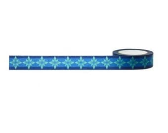 Beautiful Starbursts In Shades Of Blue, Little B Washi Tape 15mm
