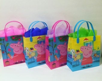 Peppa pig party bags (25)