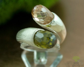 ring, dew drops