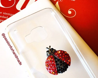 LADYBUG phone CASE, insect phone case, ladybug case, ladybug, cell phone case, clear phone case, insect, iPhone case, samsung case, cover
