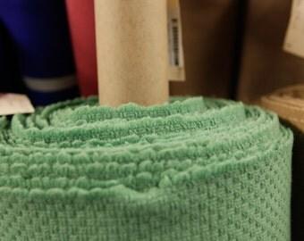 Textured Wool Grasshopper Fabric