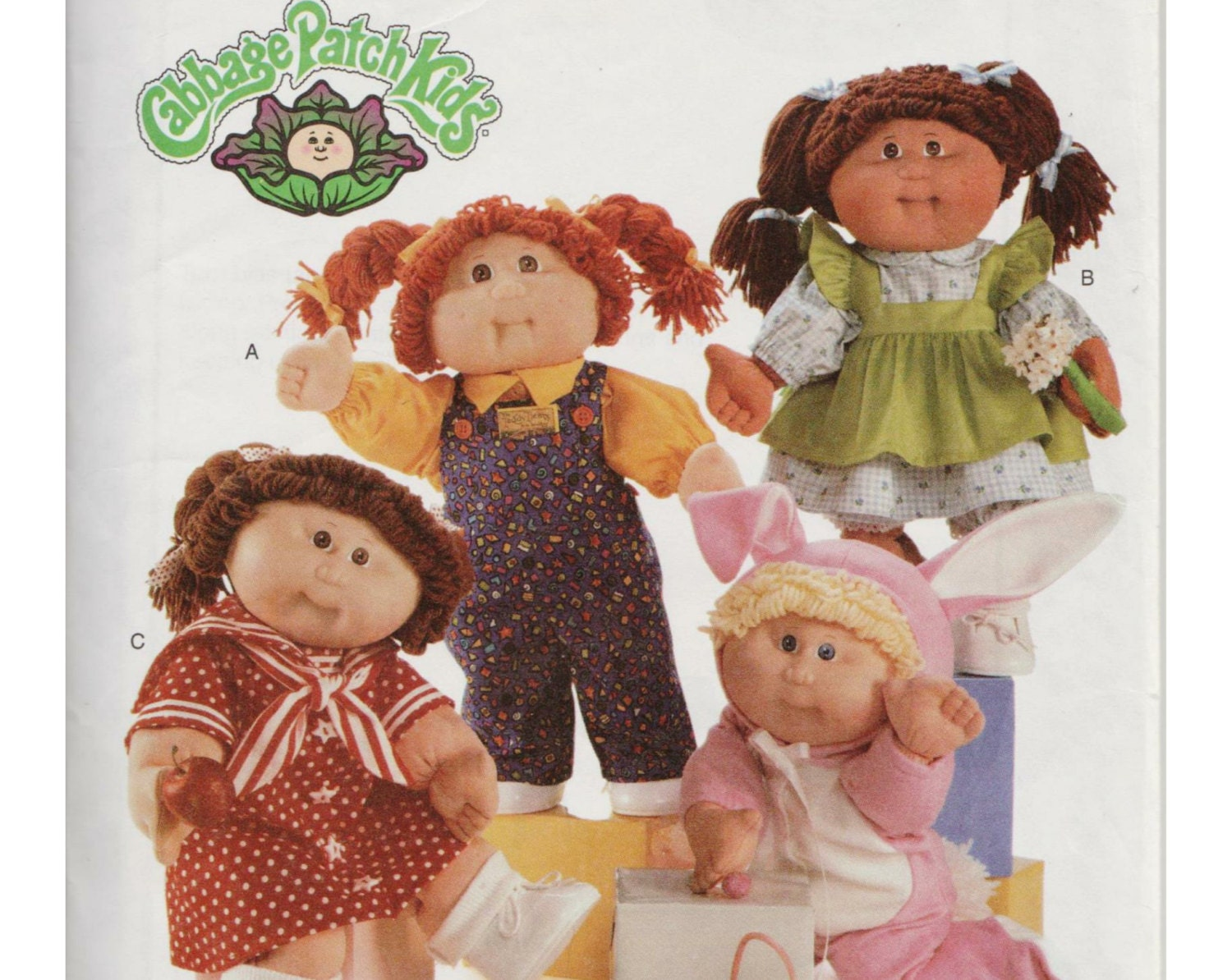 cabbage patch doll clothes pattern butterick 5902 16 inch