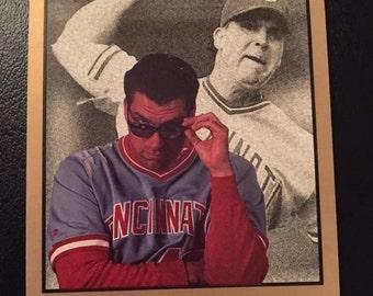 1992 Leaf Studio Cincinnati Reds 10 Card Yeam Lot