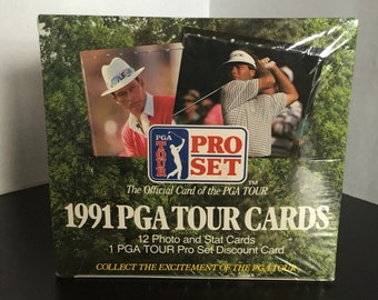 1991 Pro Set PGA Golf Factory Sealed Trading Card Box