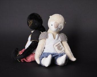 Black Knight. Teddy Bear 7,9 inch (20cm)