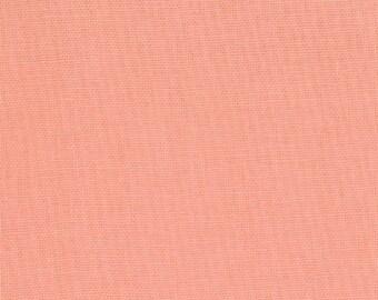 MODA - Bella Solids - Coral - 9900-147 - Pink - Melon - Solid Color