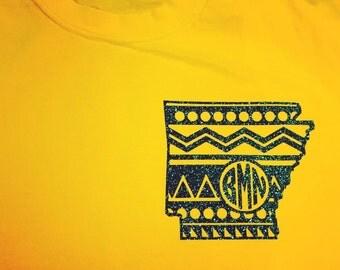 Aztec Arkansas monogram shirt