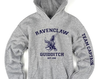 Harry Potter Ravenclaw Quidditch Team Captain Hoodie