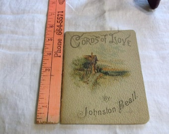 Cords of Love by Johnston Beall With Monotints by W H S Thompson