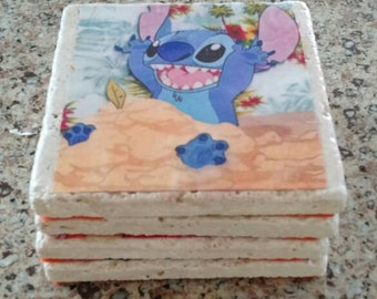 Disney coasters set of 4