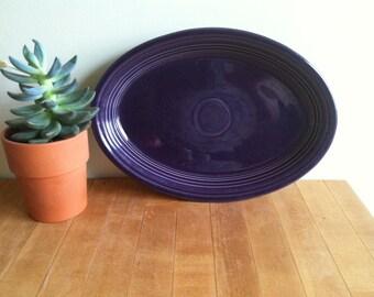 Purple Fiestaware Platter