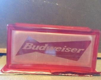 Budweiser 2 x 8 glass block