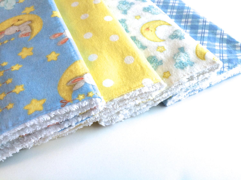 Burp Cloths Baby Burp Cloth Baby Boy Shower Gift by