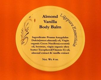 Vanilla Almond Body Balm 4 oz