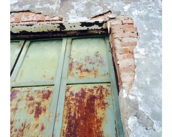 Old Iron Doors
