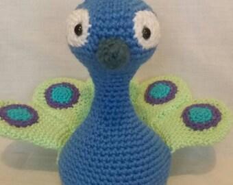 Peacock amigurumi Etsy
