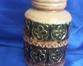 West German Earthenware vase.