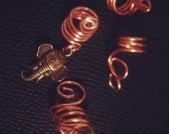 Elephant Loc Jewelry Set