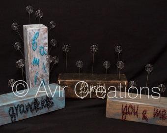 Custom Photo Block