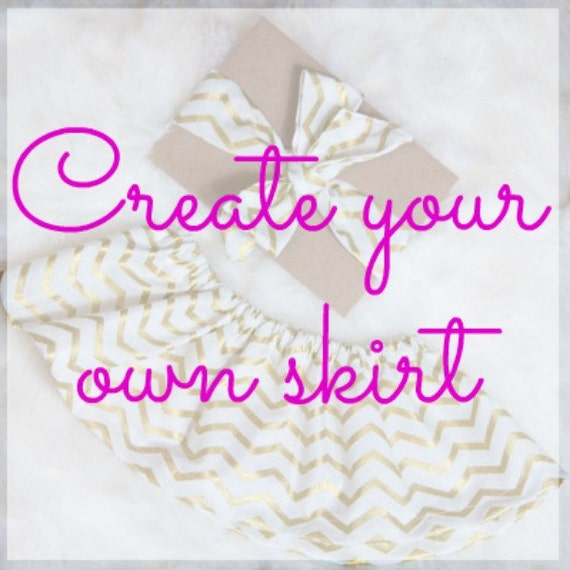 Create your own skirt skirt and head wrap by ...