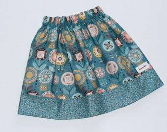 Reversible skirt Green Floral Size 5