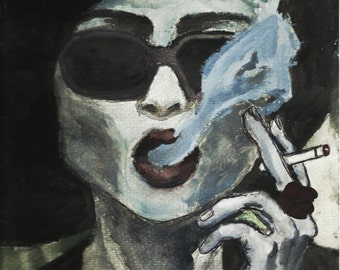 Marla Singer from Fight Club print