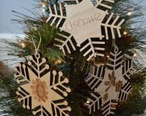 Custom Wooden Ornament