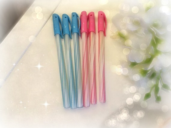 SALE Pretty pastel Candy wrap theme choice of pens/ Sweet and cute Stationary/school supplies/planner accessories