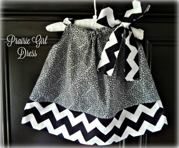 baby black white dress newborn clothing baby shower gift
